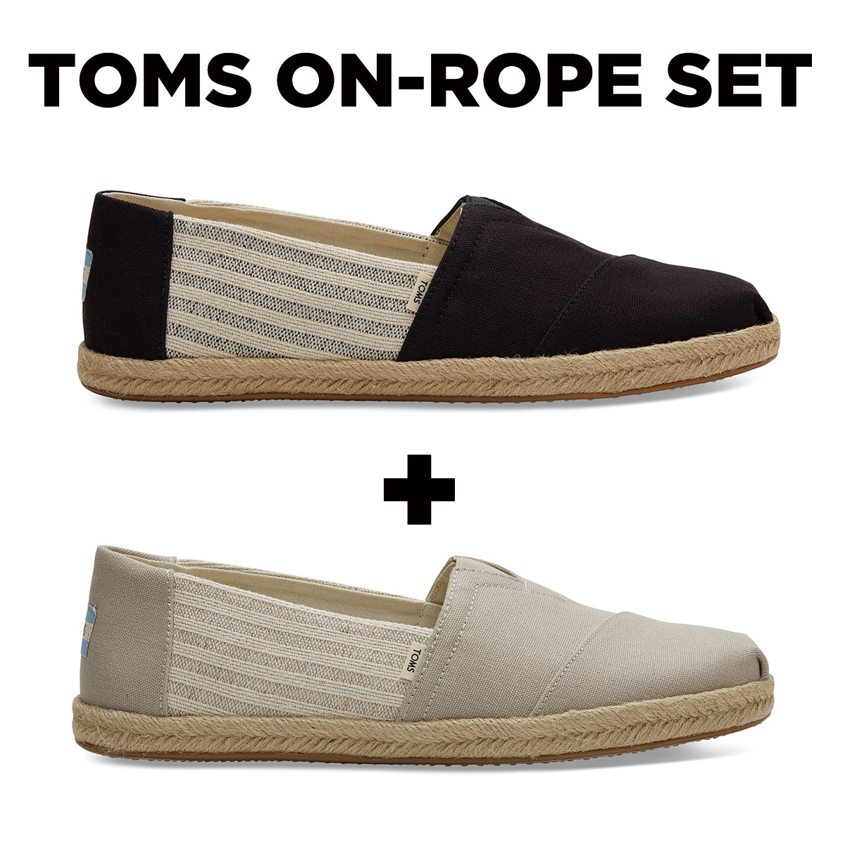 TOMS ON-ROPE MENS-E SET
